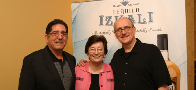 IZKALI Tequila founders with F. Paul Pacult